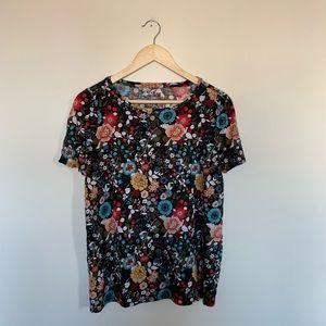 Loft Linen Women's Floral T Shirt